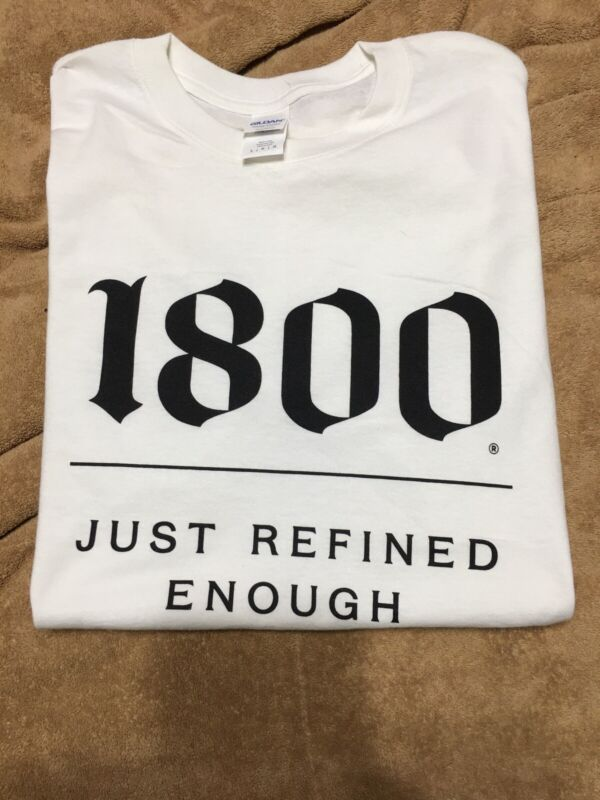 1800 Tequila T Shirt   New.  Men's Large. Free Ship USA
