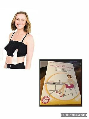 Simple Wishes Award Winning Hands Free Signature Bra L-Plus Black