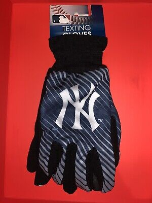 NFL Texting Winter Gloves Ny Yankees Brand New