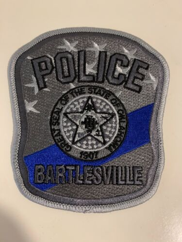 New Bartlesville Police State Oklahoma OK NEAT