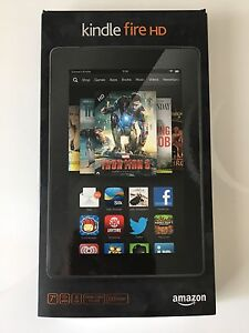"Kindle Fire HD 7"" tablet in almost new condition"
