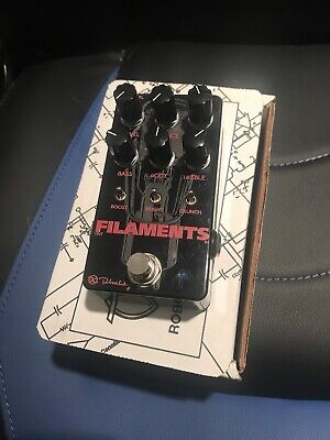 Used Keeley Electronics Filaments High Gain Distortion Guitar Effect Pedal
