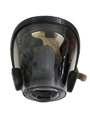 New Scott Av-3000 Full Facepiece Mask W Nose Cup Scba Air Pak Medium