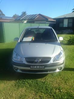2011 Hyundai Getz Hatchback Mount Pleasant Wollongong Area Preview