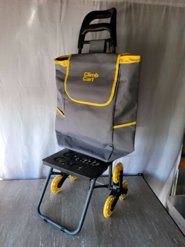 CLIMB CART  by Bulbhead -Folding that Climbs Stairs with Ease ~Holds 75 Pounds