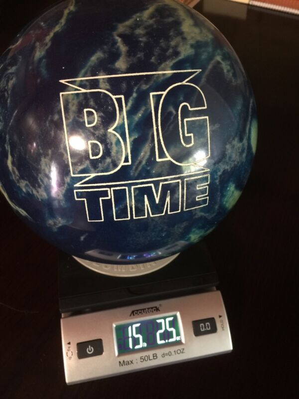 "EBONITE Big Time Pearl - 15 pounds 3"" pin - New"