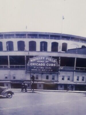 Wrigley Field Chicago Cubs Baseball Vintage Picture Wall Art Framed Wrigley Field Framed Pictures