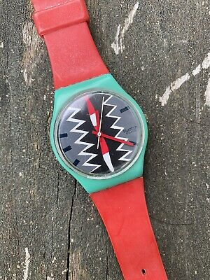Vintage Swatch - 6276-P - Purchased In The 1980s - For Parts Only - Men's Watch