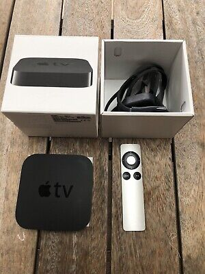 Apple TV (3rd Generation) HD 1080P - A1469 original box & setup guide