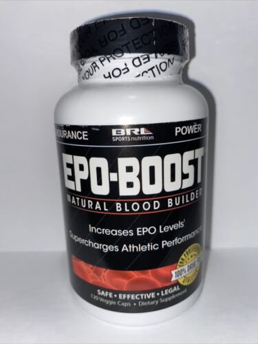 EPO-BOOST - Natural Blood Builder - 120 CAPS -Fast Free Shipping, New & Sealed!