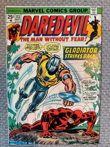 Daredevil # 113  - High Grade