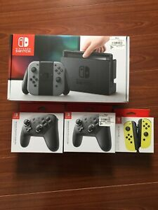 Nintendo switch / games / controllers