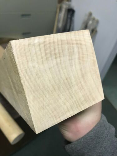 """3""""x3""""x36"""" Hard Maple Wood Square NON-S4S *Kiln Dried* Turning Wood"""