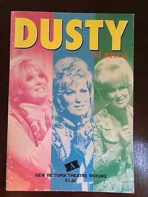 DUSTY SPRINGFIELD - Original Theatre Flyer DUSTY THE MUSICAL 2000 F#38