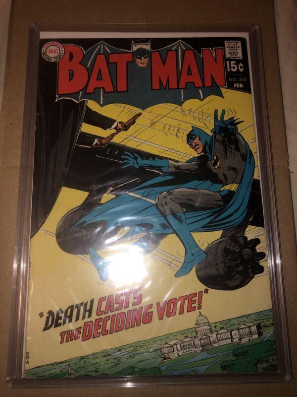 Batman #219 (Feb 1970, DC)