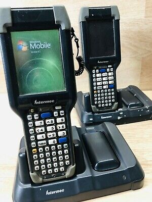 Intermec Ck3 Mobile Computer Barcode Scanner With Charging Dock2 Batteries