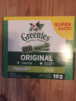 Greenies Original Teenie Dog Dental Chews - 54 Oz 192 Treats