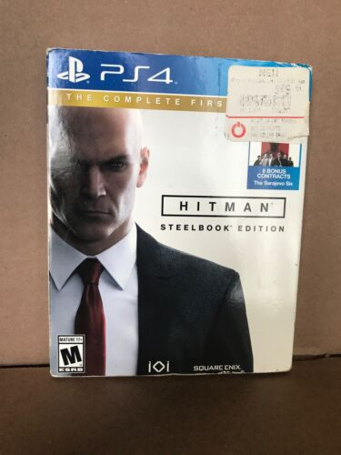 Hitman - The Complete First Season SteelBook Edition (Sony PS4, 2016)