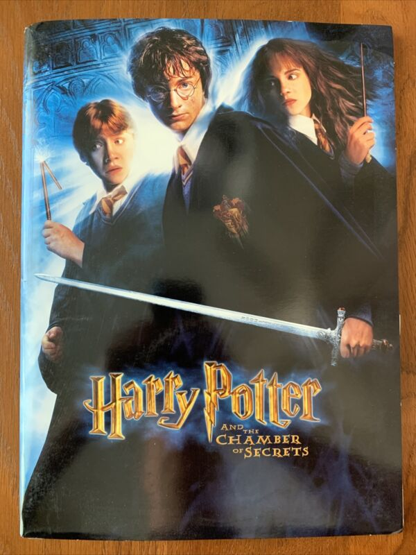 HARRY POTTER AND THE CHAMBER OF SECRETS 2002 Promo MOVIE PRESS KIT JK ROWLING