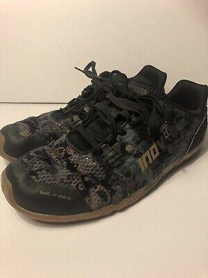 Inov-8 Bare-XF 210 V2 Cross Training Shoes, Grey Camo, 9 Mens, 10.5 Womens- USED