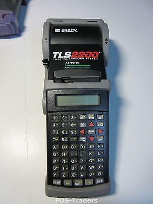 Brady TLS2200 Portable Thermal Labeling Label Printer - EXCL PSU