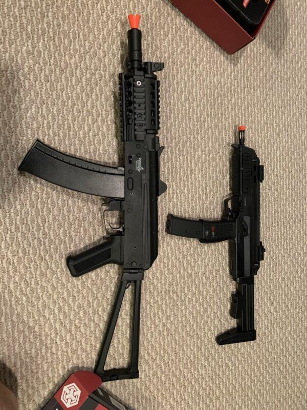 Airsoft AK74U And MP7