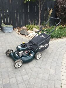 Fully Serviced Rear bag Mower