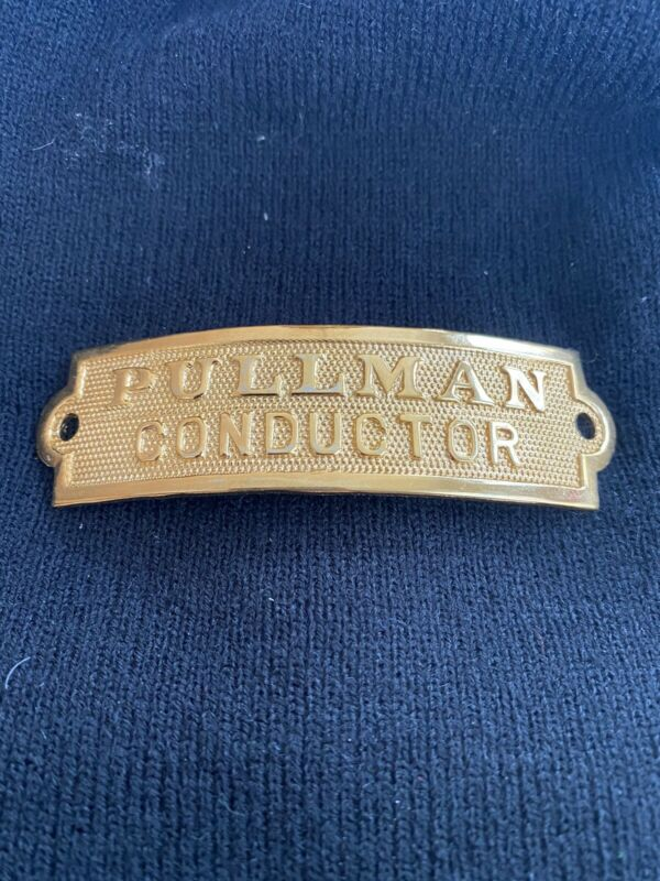 PULLMAN CONDUCTOR Hat Badge