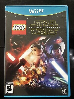 LEGO Star Wars The Force Awakens Nintendo Wii U - Ships Fast
