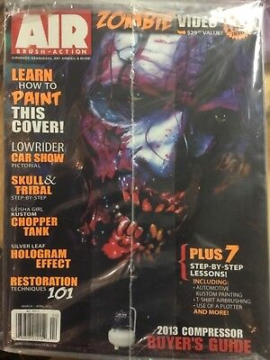 - AIRBRUSH ACTION MAGAZINE -March/April 2013