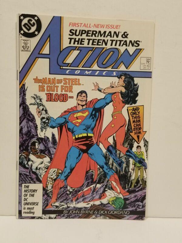 Action Comics #584 (Jan 1987, DC)