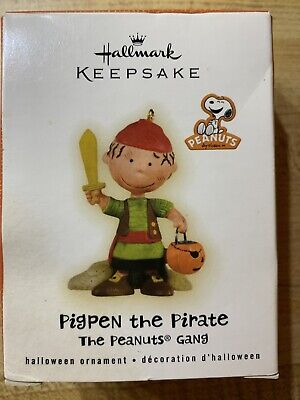 Hallmark Pigpen The Pirate Halloween Ornament 2009 Peanuts Gang