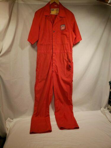 Vintage Phillips 66 Gas Station Attendant Coverall Uniform, Lee Union-alls