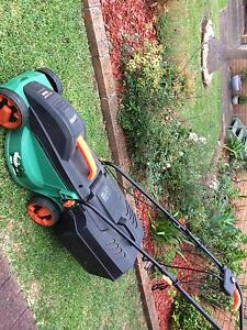 Electric mower Kanahooka Wollongong Area Preview
