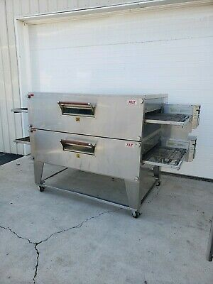 2013 Xlt Model 3270 Double Stack Gas Pizza Ovens 32 Belt Widthlittle Caesars
