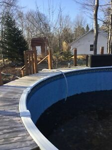 24ft Round Above Ground Pool
