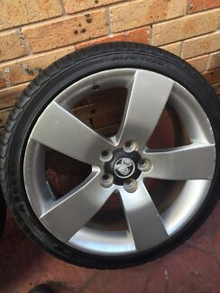 VE SSV WHEELS AND TYRES  Berala Auburn Area Preview