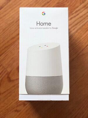Students best Present: Google Home Smart Speaker - White/Slate NEW