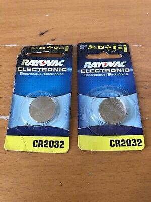 Two Batteries Cr-2032 For Speedglas 100 9100 9002 Helmet