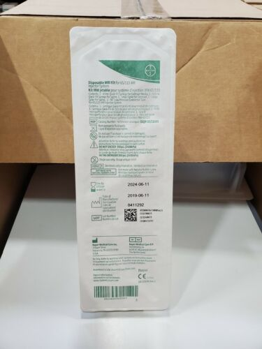 Bayer Medred SSQK 65/115VS Disposable MRI Kit - exp. 06/11/2024 - Case of 50