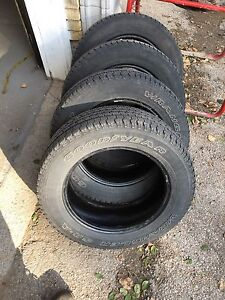 4 tires size P215/65R 17 Goodyear London Ontario image 1