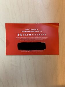 Map My Fitness 12 month Premium Membership