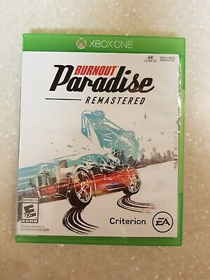 BURNOUT PARADISE REMASTERED XBOX ONE USED 2008 for sale  Shipping to Nigeria