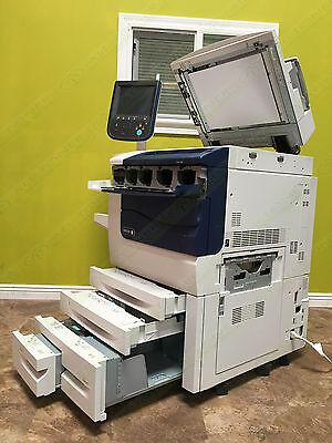 Xerox 550 Press Color Laser Production Printer Copier Scan Fiery 55ppm 560 570