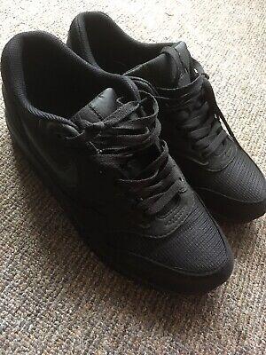 Nike Air Max 1 Triple Black 8.5 (2011)