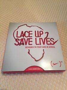 Nike Lace Up Save Lives Shoelaces