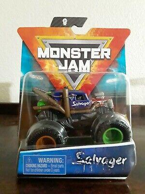 2020 Spin Master Monster Jam Truck Salvager Wreckless Trucks