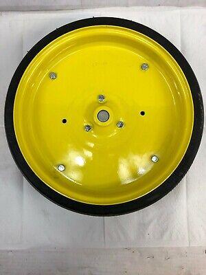 Fits John Deere Ct Ho39 Rubbersteel Idler Wheel W Shaft Bearing
