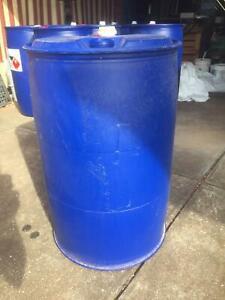 Plastic Blue Drum Barrel 220L