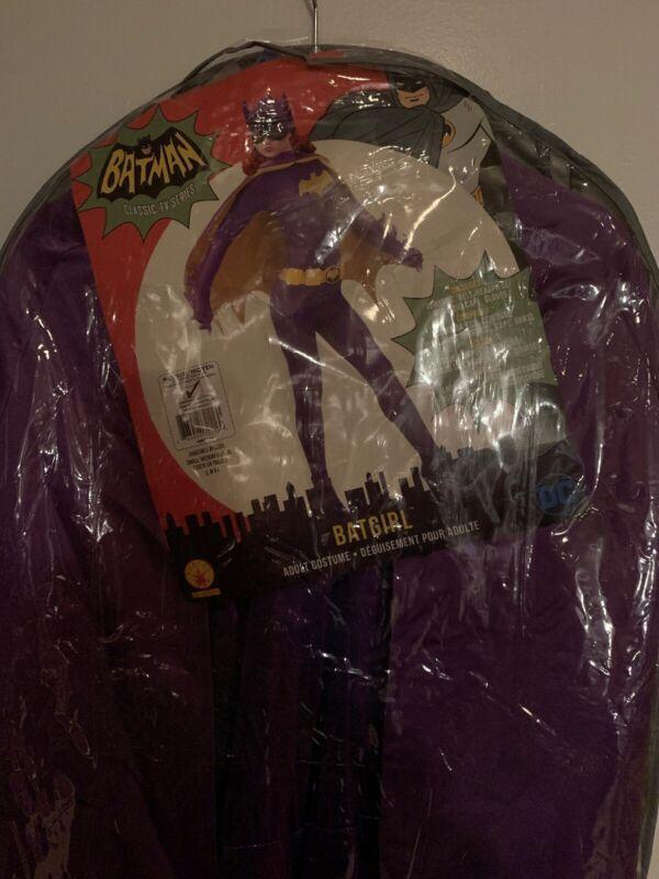 Rubies Batman Series Batgirl Adult Collectors Halloween Costume 887211 Med NIP